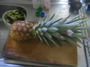 パイナップルの挿し木3本目